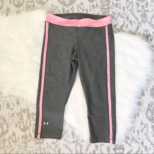 Under Armor: CoolSwitch Crop Leggings 55